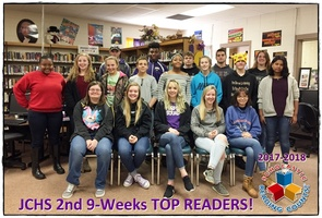 JCHS TOP RC READERS - 2ND 9 WEEKS!