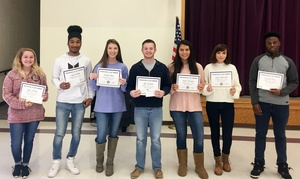 JCHS 1st Semester Awards!