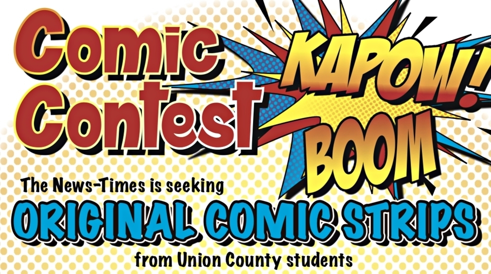 Comic Strip Contest for 5th-12th graders! Submission Deadline 2/1/21