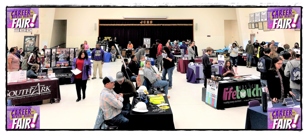 JCHS-NECC Career/Health Fair was a HUGE SUCCESS!