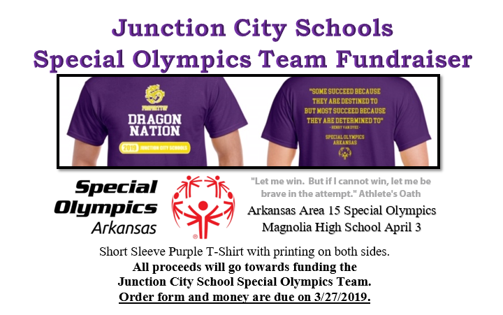 Support our Dragon Special Olympics Team!