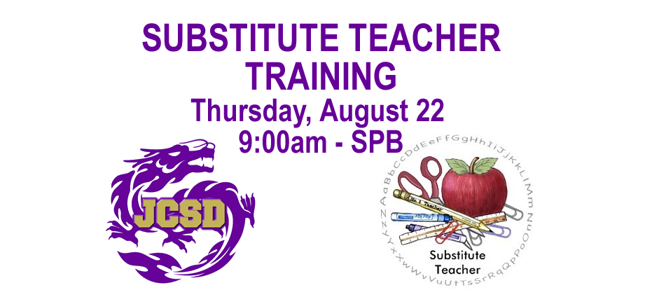 Substitute Teacher Training!