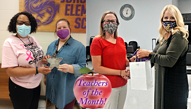 September Teachers of the Month!
