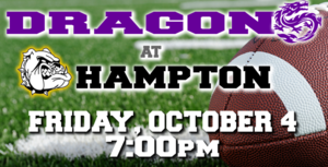 GO DRAGONS! Beat those Canines from Calhoun County!