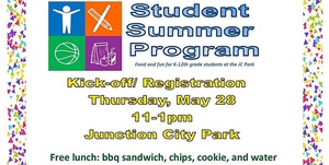 Come out next Thursday, May 28 and register for the Student Summer Program!