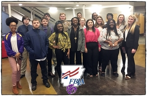 JCHS students place in FBLA Sr. High Spring Conference!
