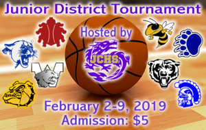 JCSD is proud to host the Jr. District Tournament Feb. 2-9