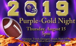 PURPLE-GOLD NIGHT!