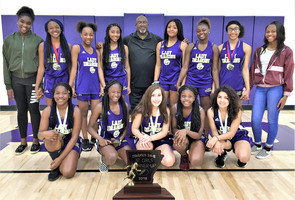 Jr. High Girls Track Team! 2019 District 8-2A Runner Up!
