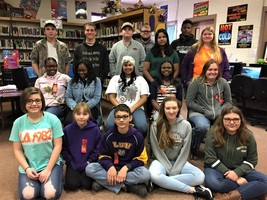 ​Congratulations to our JCHS 1st Nine Weeks TOP READERS!