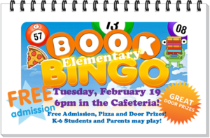 ELEMENTARY BOOK BINGO NIGHT!