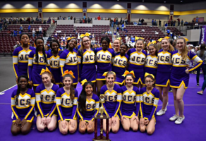 Jr. High Cheerleaders ~ Spa City Classic Champs!