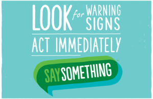 Say Something Week: March 2-6, 2020