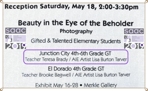Gifted & Talented Photography Exhibit!