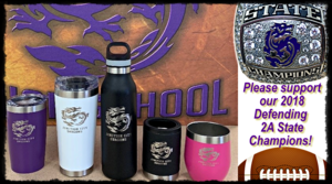 ONLINE FUNDRAISER! Support our Defending 2A State Champions!