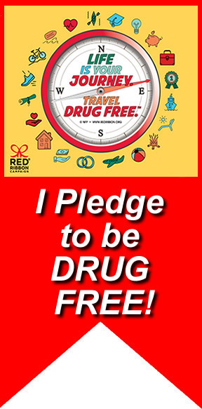 I pledge to be DRUG FREE!