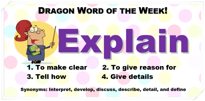 Dragon Word of the Week!