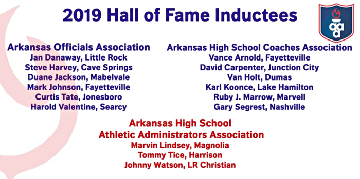 David Carpenter 2019 AHSCA Hall of Fame Inductee