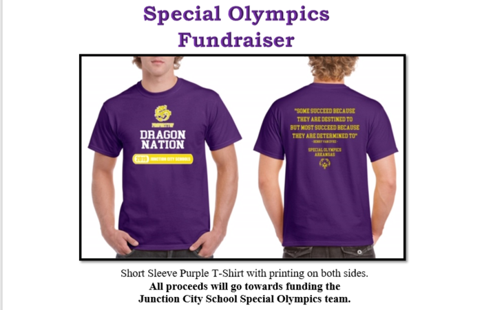 Special Olympics Shirt