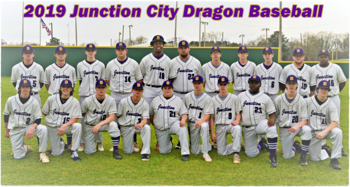 2019 JCHS Dragon Baseball