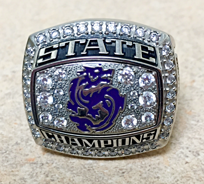 Football State Champ Rings