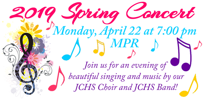 Spring Choir & Band Concert