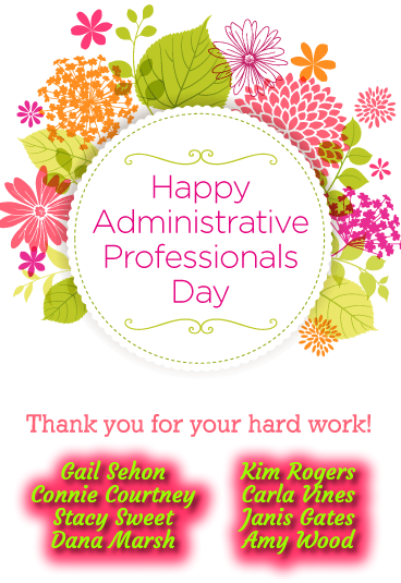 Happy Secretaries Day!