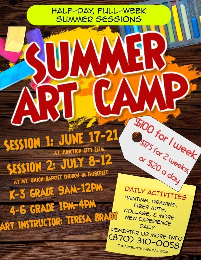 Summer Art Camp!