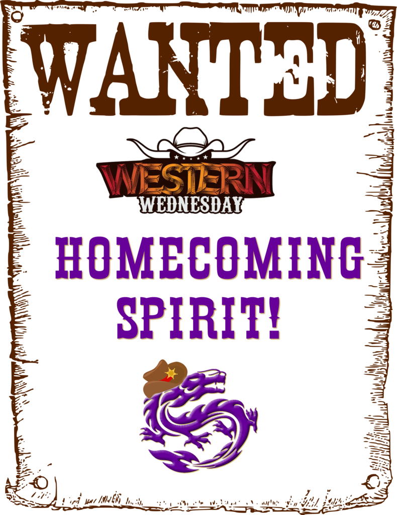 Western Wednesday Spirit Theme!
