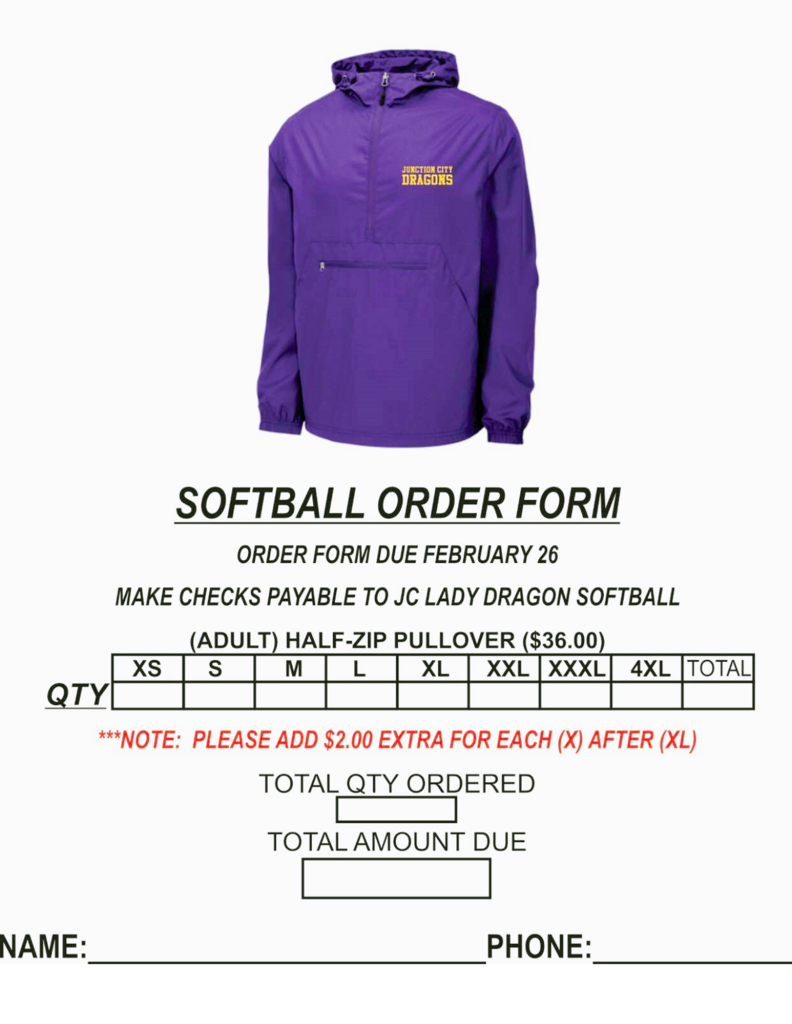 Softball Fundraiser