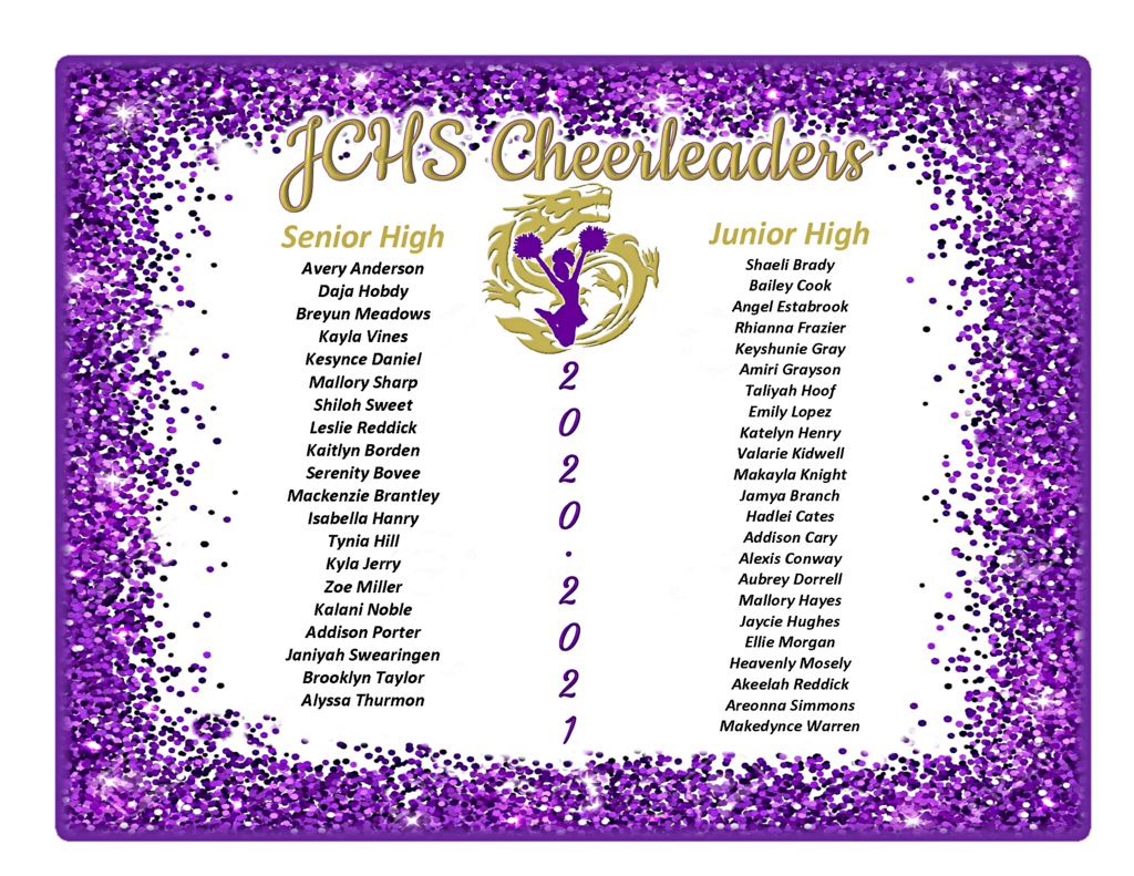 2020-2021 Dragon Cheer!